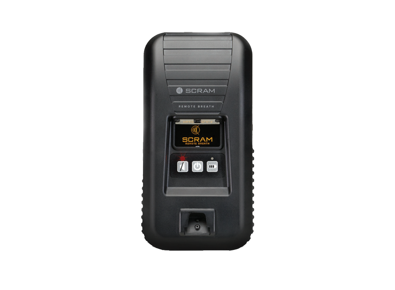 SCRAM Remote Breath Device