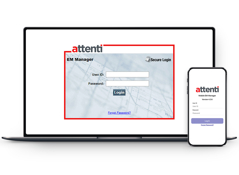 Attenti EM Manager Screenshot